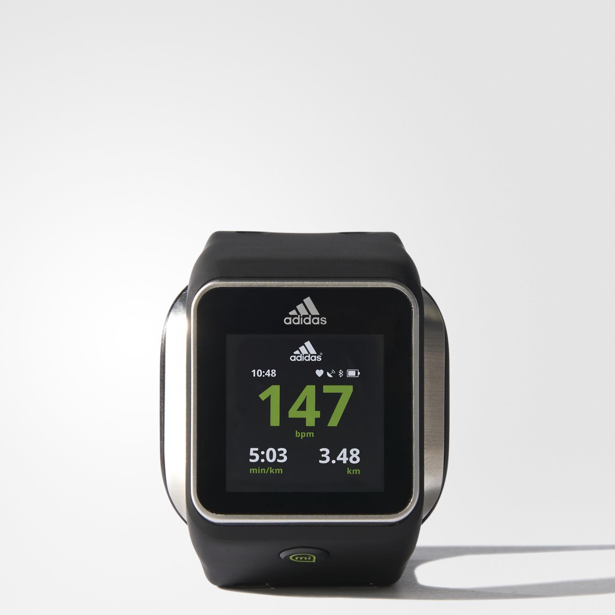 daefd05034d Relogio miCoach Smart Run - Preto adidas
