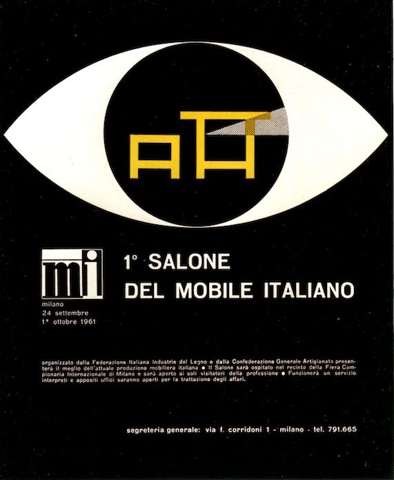 poster for the Milan furniture fair (1967)