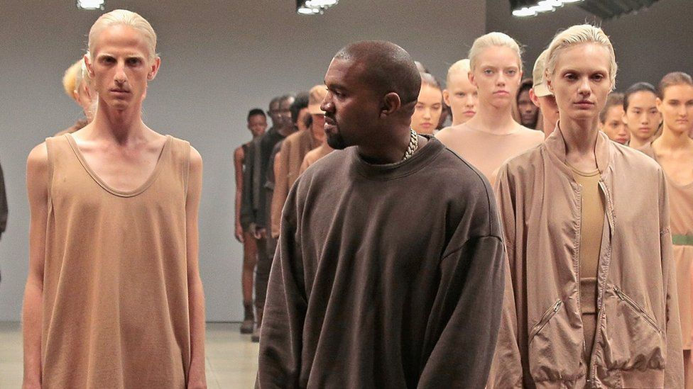 Kanye West And Gap Back In Business As They Seal 10 Year Deal On Yeezy Gap Line In 2020 Kanye Yeezy High Fashion Kanye West