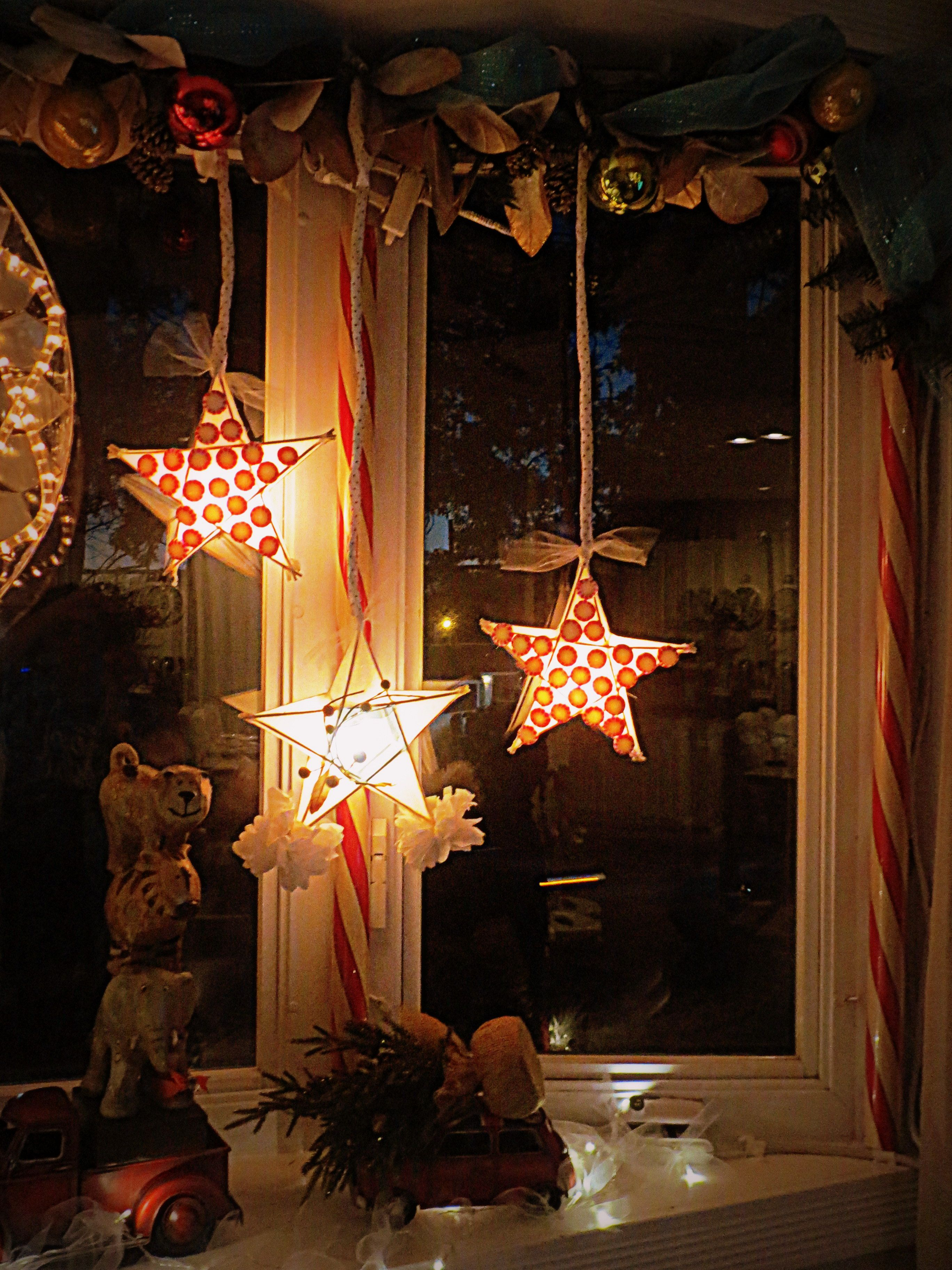 Filipino parol for sale in america - Diy Christmas Lanterns Filipino Parol I Used Bbq Sticks To Make The Stars
