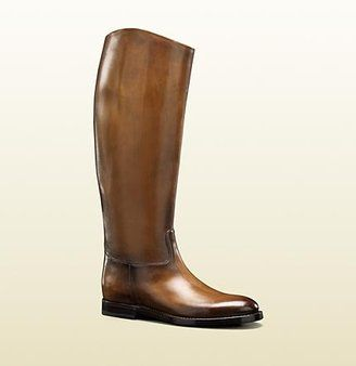 95e22849611 Gucci Men s  1921 Collection  Riding Boot With Crest Detail  1
