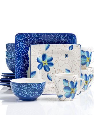 Stylish Dinnerware Sets for Holidays  sc 1 st  Pinterest & Laurie Gates Casual Collection | These designs represent specific ...
