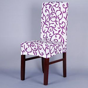 Dining Room Chair Slipcovers Short - Sure Fit Stretch Pique Short ...