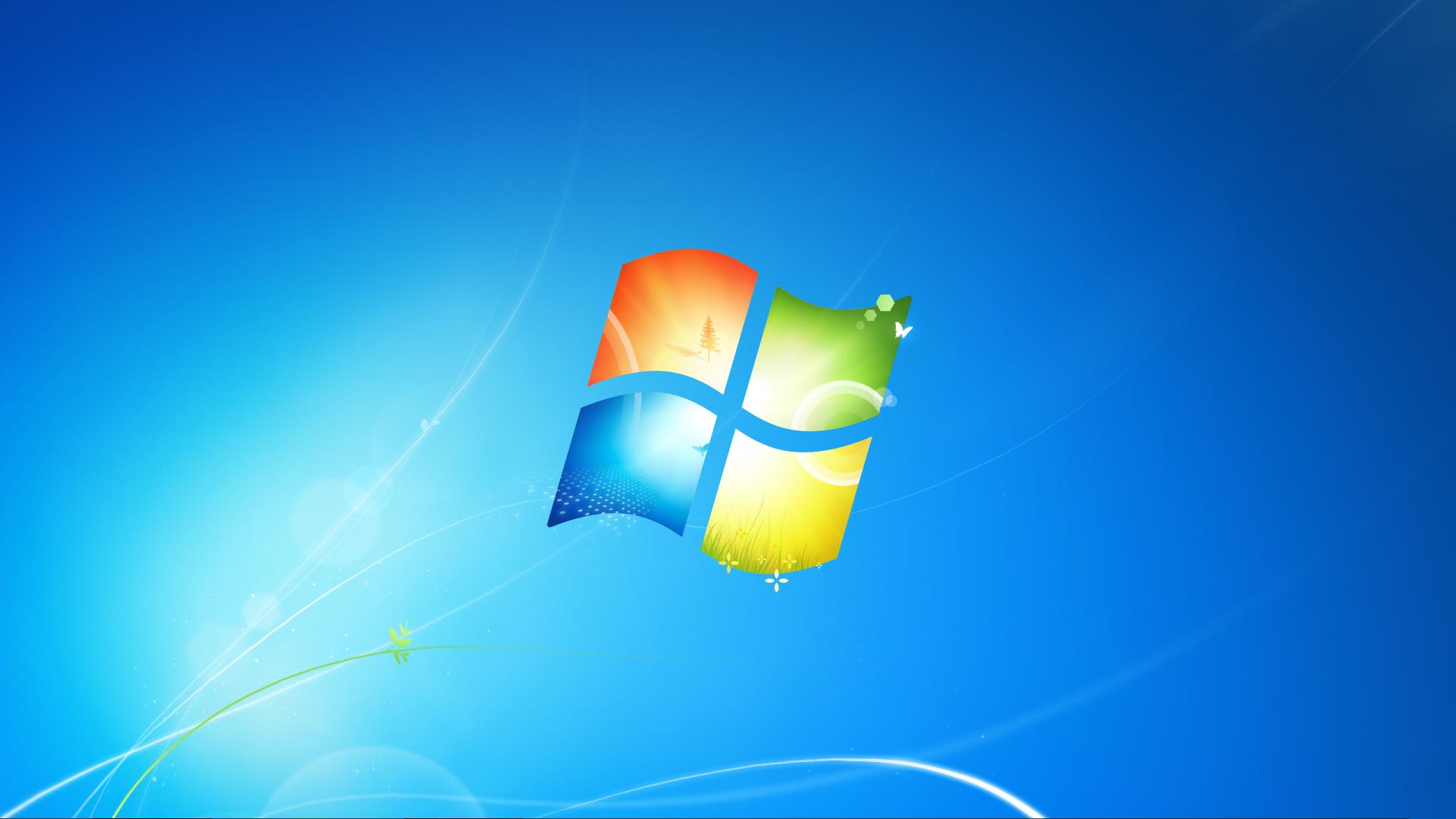 Windows 7 Default Wallpaper 1920 X 1080 4k Computer Maintenance Computer Logo Computer Technology