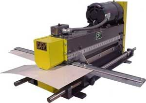 Rotary Slitters Sturdy 24 Inch Throat Sheet Metal Slitters With Quick Adjusting Back Gauge And Scale Stand Is Opt Sheet Metal Shear Sheet Metal Hydraulic
