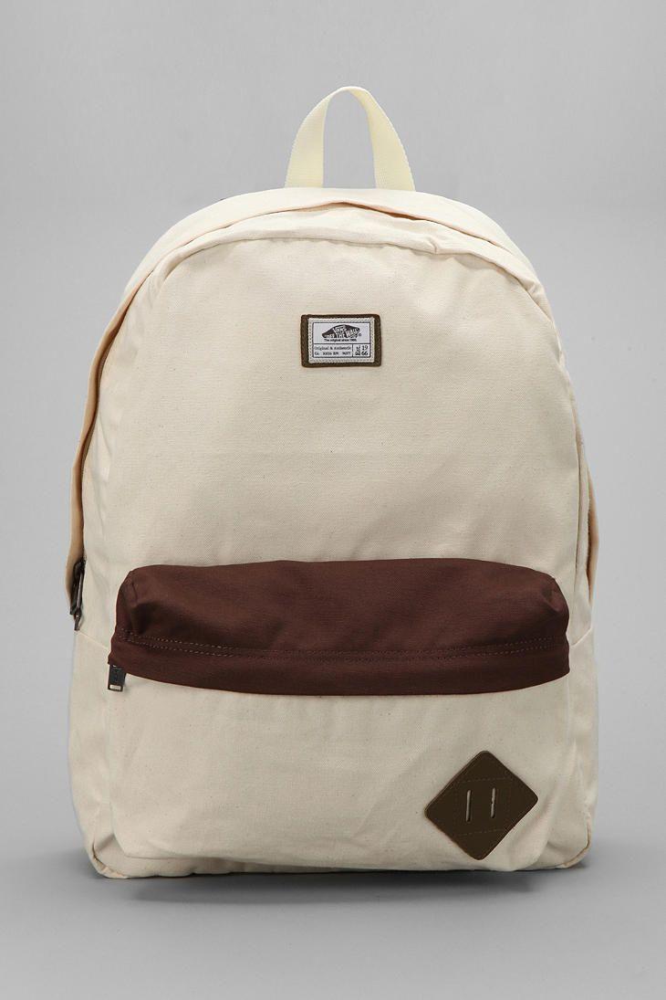 0dd70252b1f5e6 Vans Old Skool II Canvas Backpack  UrbanOutfitters