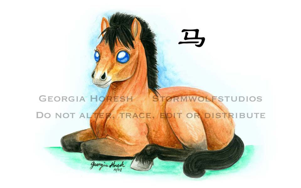 According to the Chinese Zodiac, the sign of the Horse is