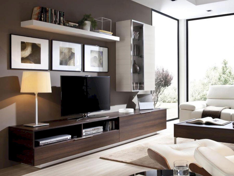 Inspired Tv Wall Living Room Ideas (22)