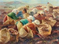 Potatisplockare by Gerhard Wihlborg
