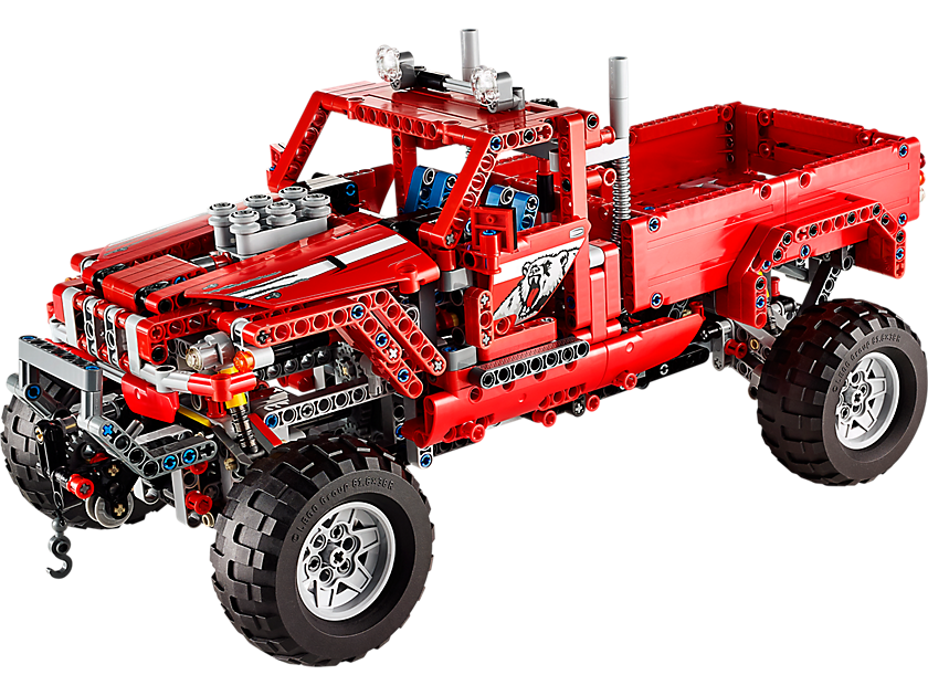 Customized Pick Up Truck You Can Get This Set Lego Technic