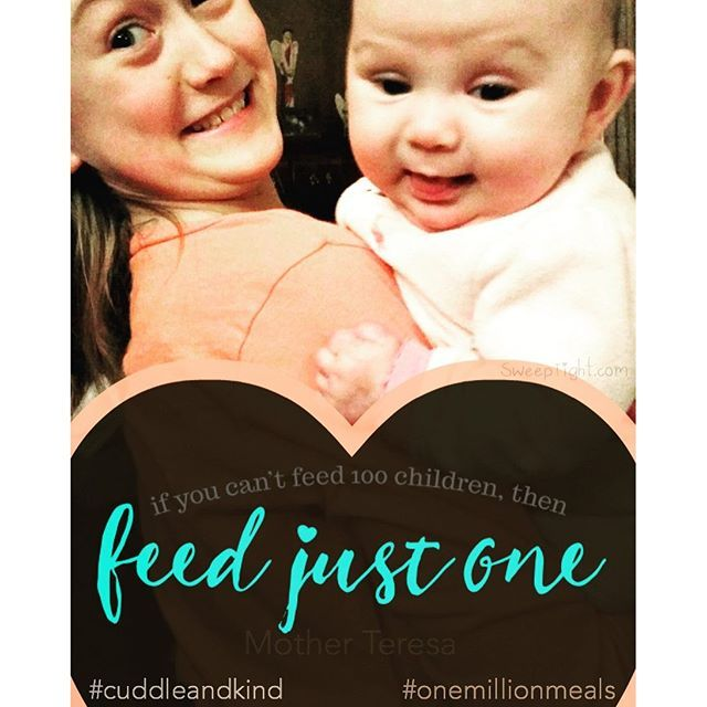 When you purchase one #doll from cuddle+kind, 10 meals are provided to children in need. As of right now, cuddle+kind has donated 210,598 #meals since launching their #business on #Indiegogo. The company is run by a #family of 5 on a #mission to #feed #ch