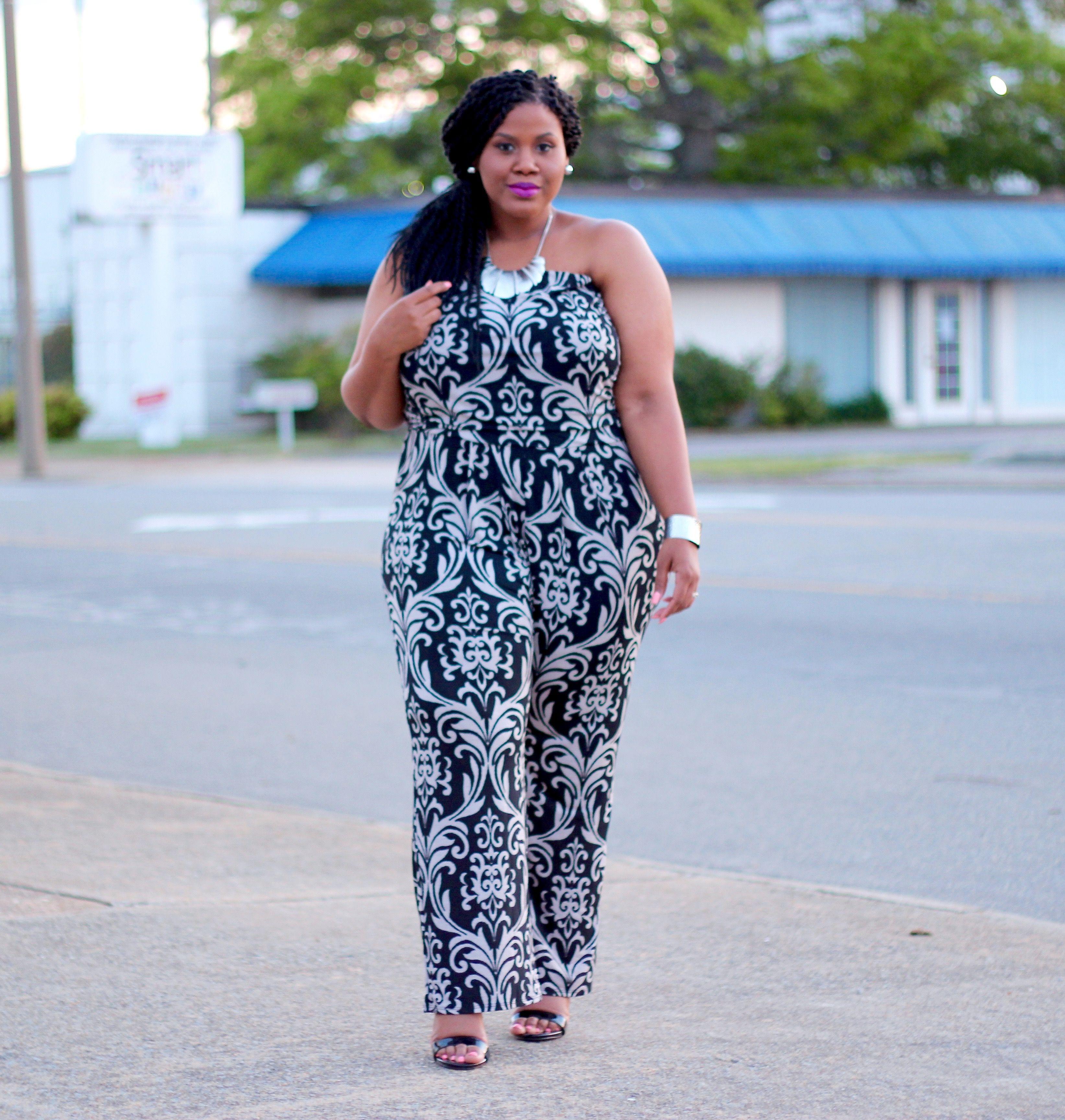 21a60c82b8ce plus size jumpsuits Fat Girl Fashion
