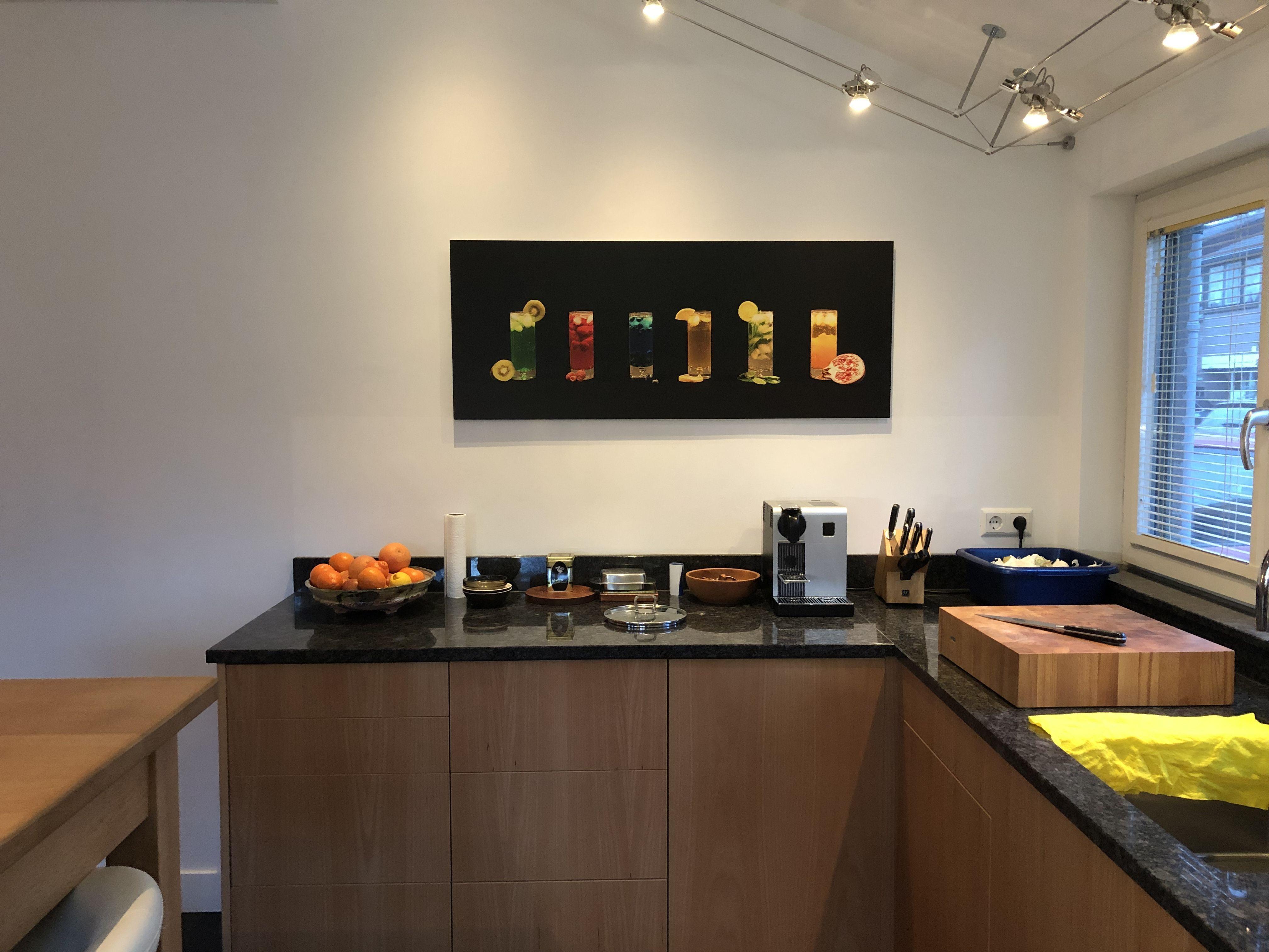 Pin Op Keuken Wanddecoratie I Werk Aan De Muur