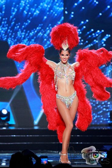 Costume moulin rouge miss univers