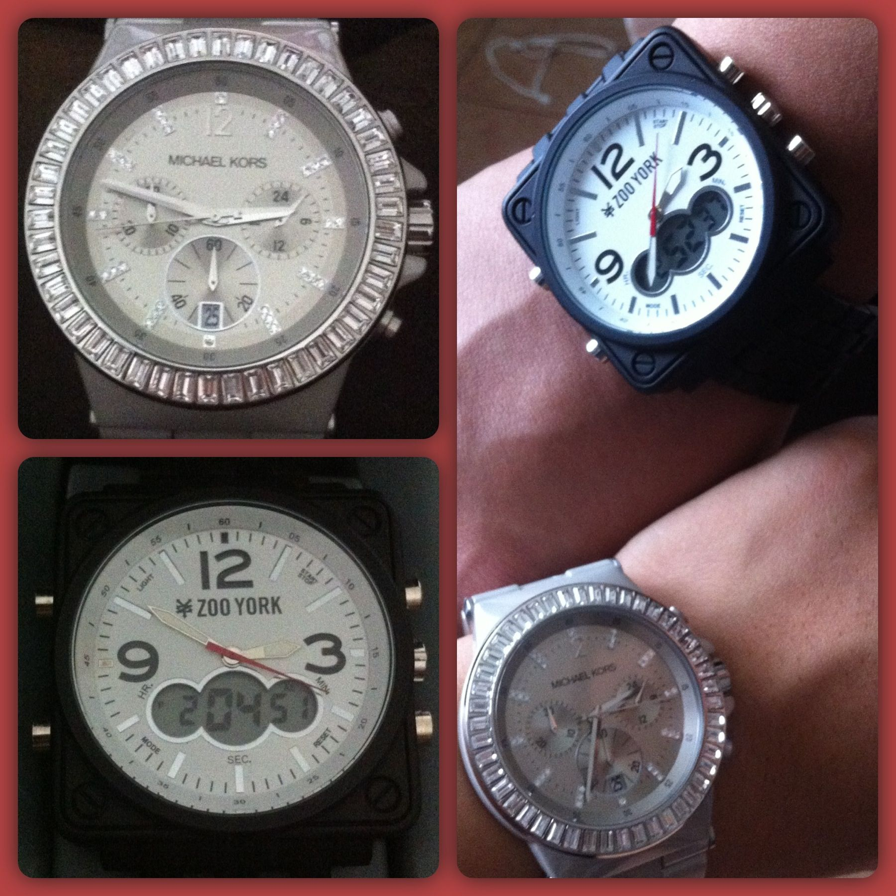 Zoo York & Michael Kors Watch