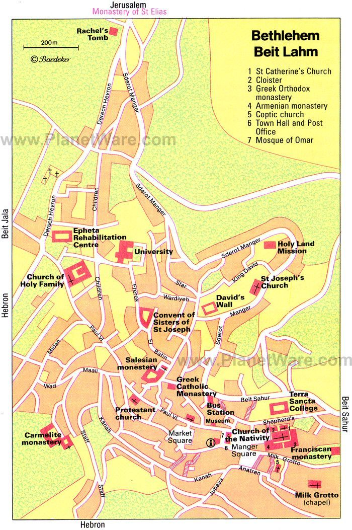 Map Of Bethlehem Maps of Bethlehem | Group Travel to Israel | Map, Bethlehem