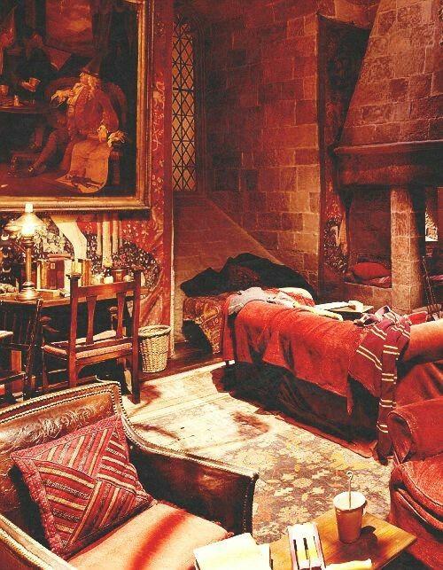 Gryffindor Commonr Room Gryffindor Common Room Gryffindor Harry Potter Wall