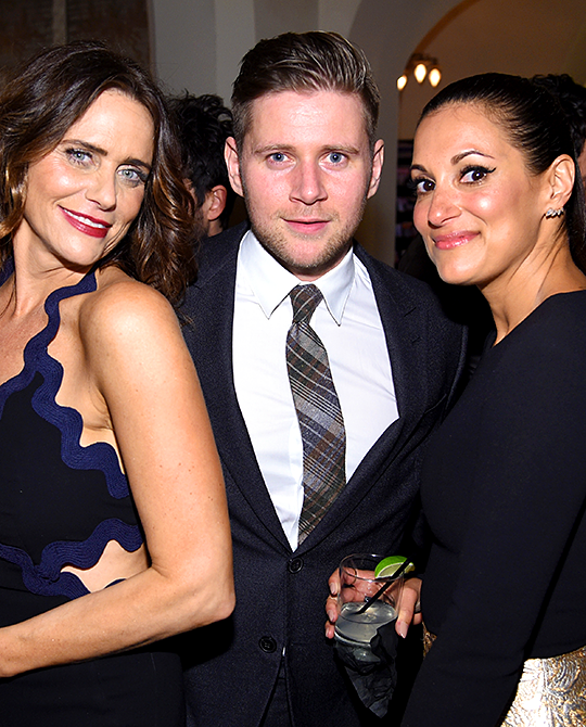 Allen Leech, Amy Landecker and Angelique Cabral attend Entertainment Weekly Celebration Honoring The Screen Actors Guild Awards Nominees - January 2016