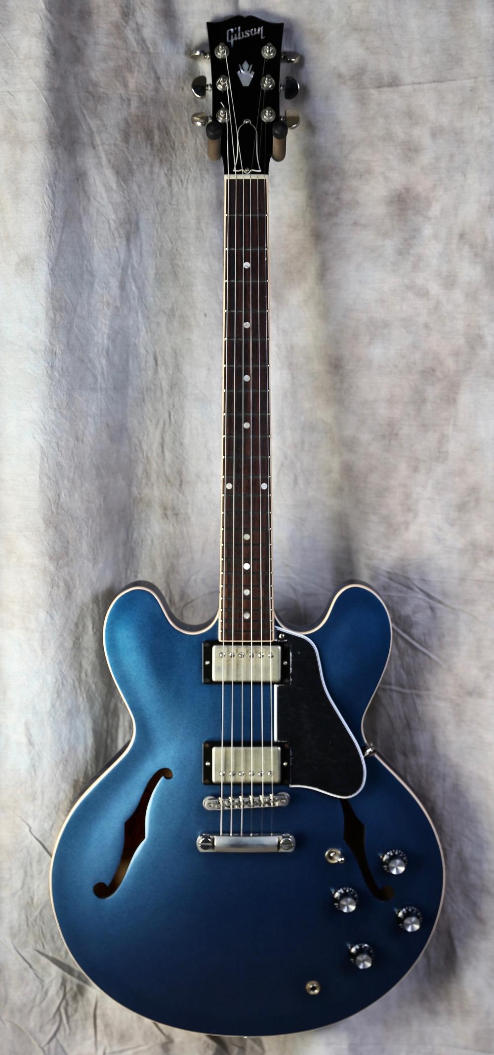 2019 Gibson Es 335 Ltd Harbor Blue Gibson Es 335 Gibson Guitars Guitar