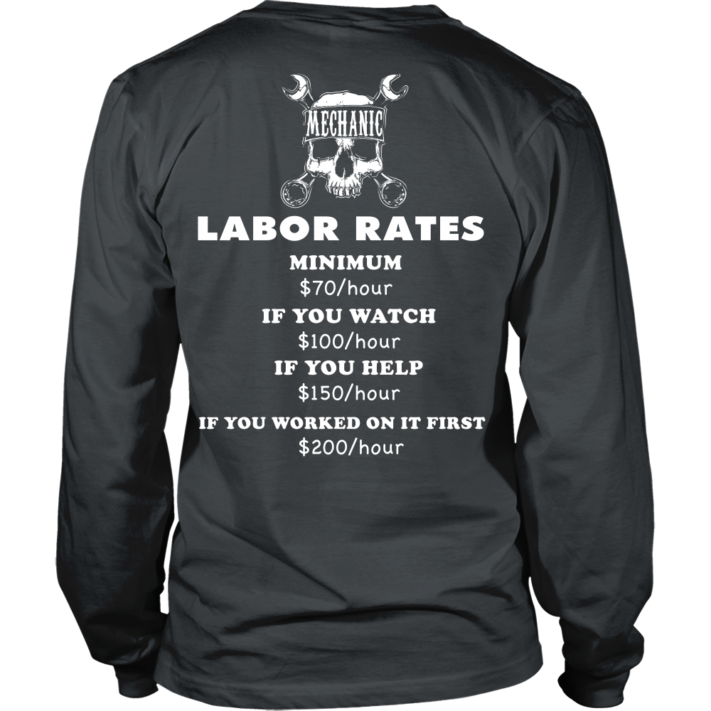 Mechanic Labor Rates Back Design Rosss Ideas Pinterest Wiring Diagram Humor