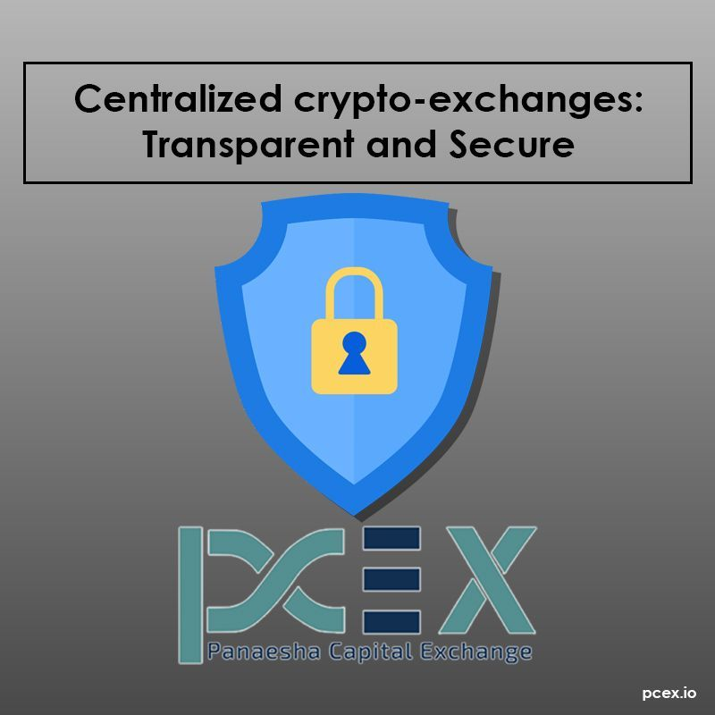 Centralized cryptoexchanges like PCEX are better regulated