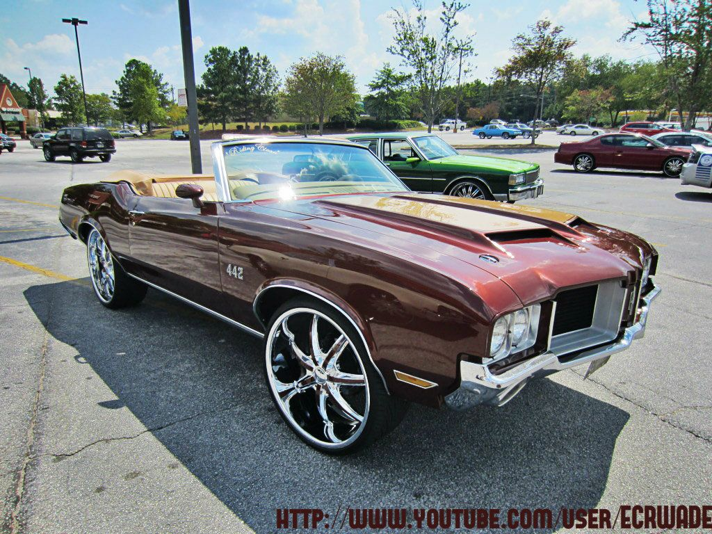 1970 442 Convertible Oldsmobile Cars Cool Cars Convertible