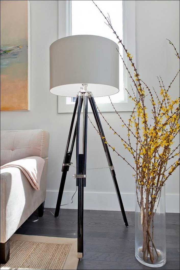 Stehlampe Modern Drei Beine Originelles Design In 2018 | Kleines Wohnzimmer  Einrichten Beispiele | Pinterest | Kitchen, Group Boards And Kitchen Decor