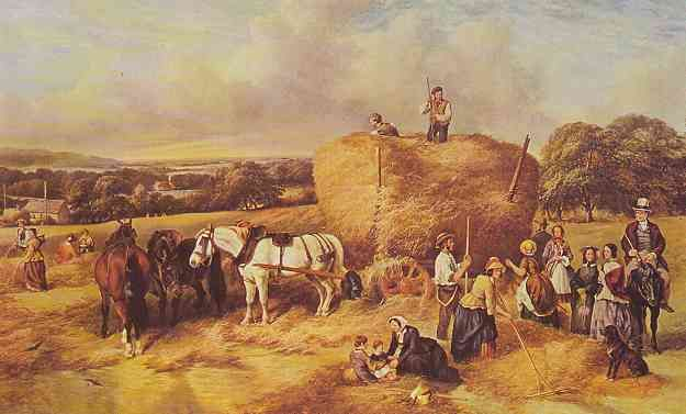 peasant farmer during the industrial revolution Agriculture had dominated the british economy for centuries during the 18th century, after a long period of enclosures, new farming systems created an agricultural revolution that produced larger quantities of crops to feed the increasing population.