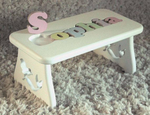 Amazing Name Puzzle Stool Custom Leg Design Little Mermaid Ocoug Best Dining Table And Chair Ideas Images Ocougorg