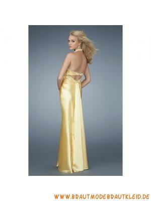 halshalter lange abendkleider aus stretchsatin  prom dresses formal dresses