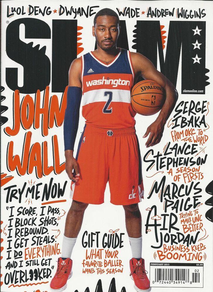 slam basketball magazine with john wall slam magazine on john wall id=52413