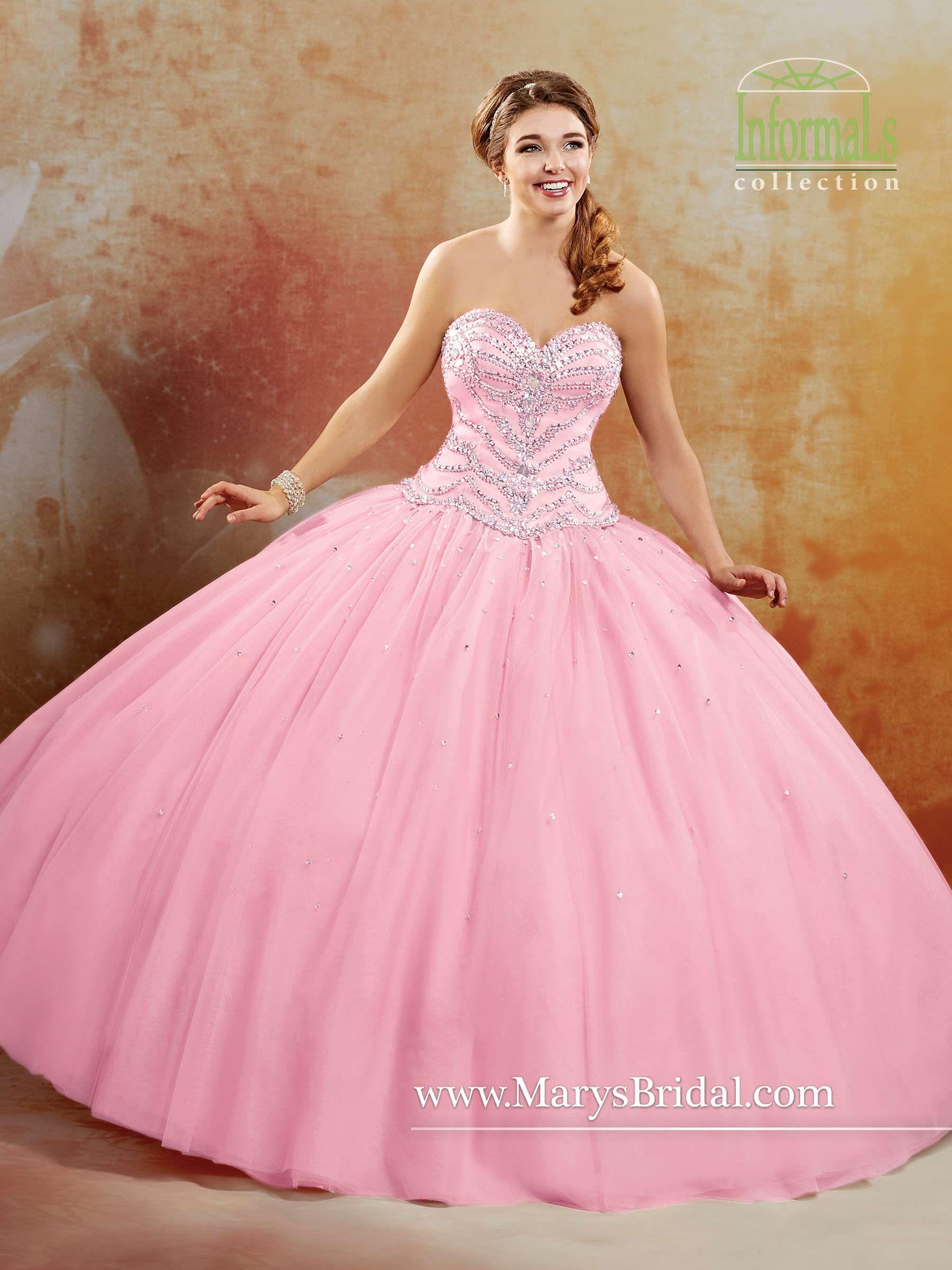 2B-792 | Pink Wedding Dresses | Pinterest