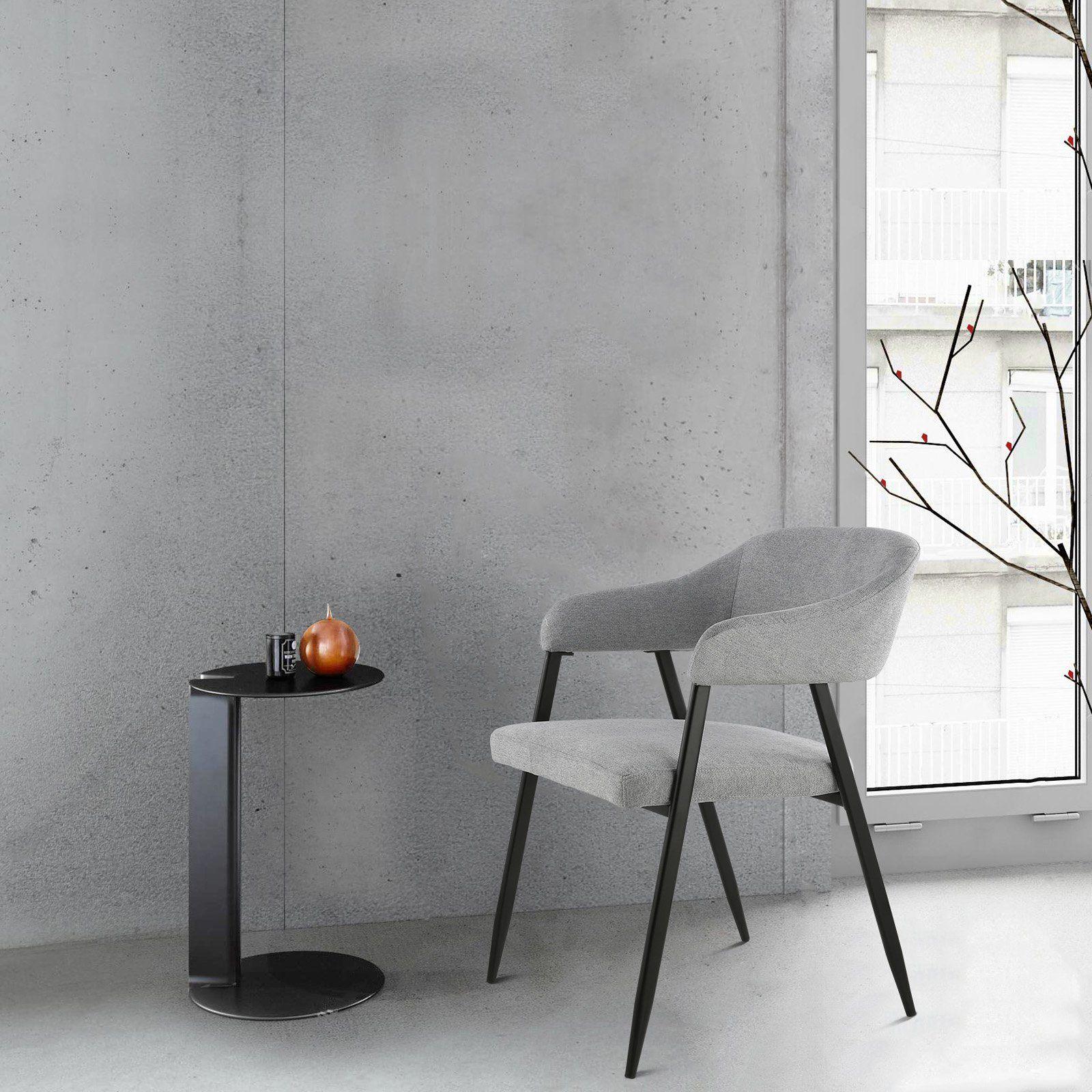 Edgemod Helsinki Upholstered Dining Arm Chair Set of 2