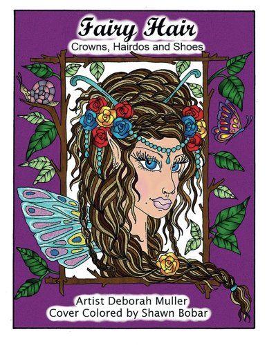 Fairy Hair Artist Deborah Muller Cover Colored By Shawn Bobar