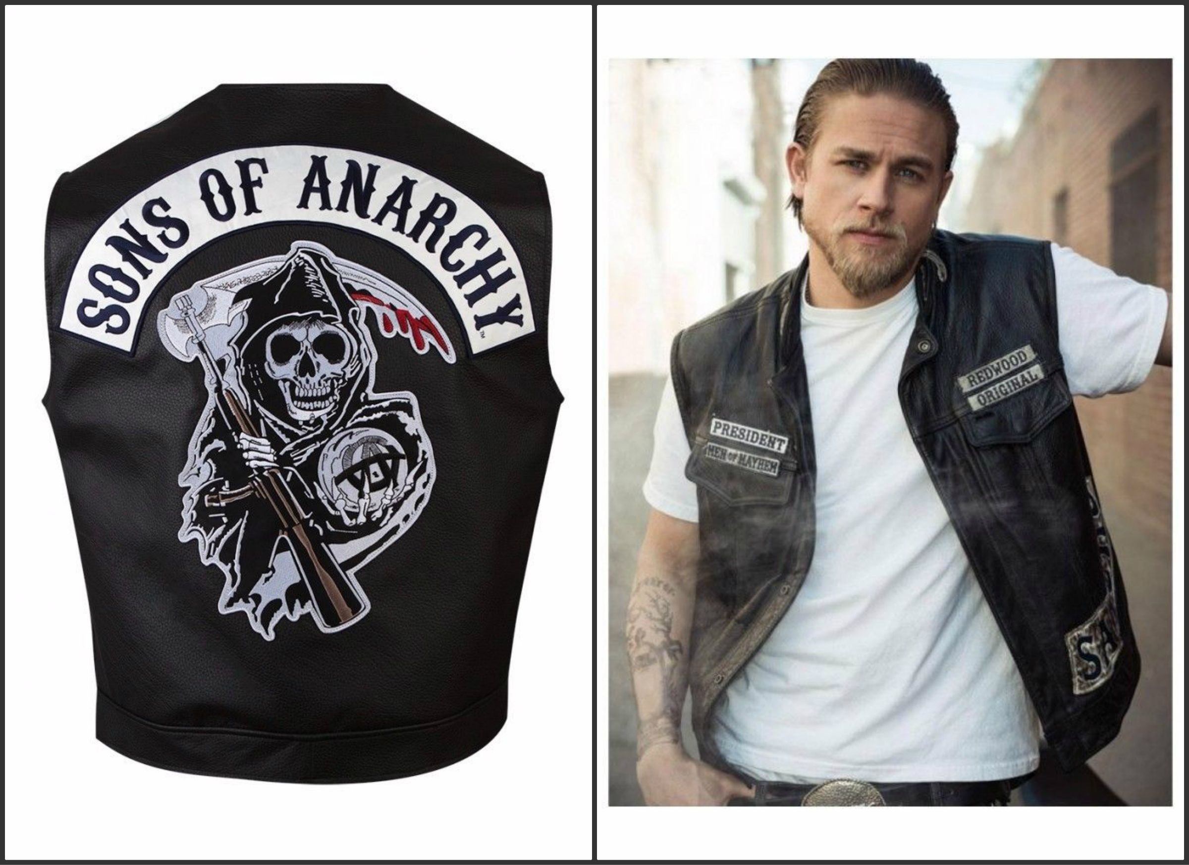 Son Of Anarchy Leather Vest A Fantastic Outfit For Men Son Of Anarchy Leather Vest Now Available In Our O Mens Leather Vest Sons Of Anarchy Vest Leather Vest