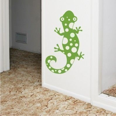 Wall Decals Spotty Lizard Vinyl Wall by singlestonestudios & Wall Decals Spotty Lizard - Vinyl Wall Stickers Art Graphics ...