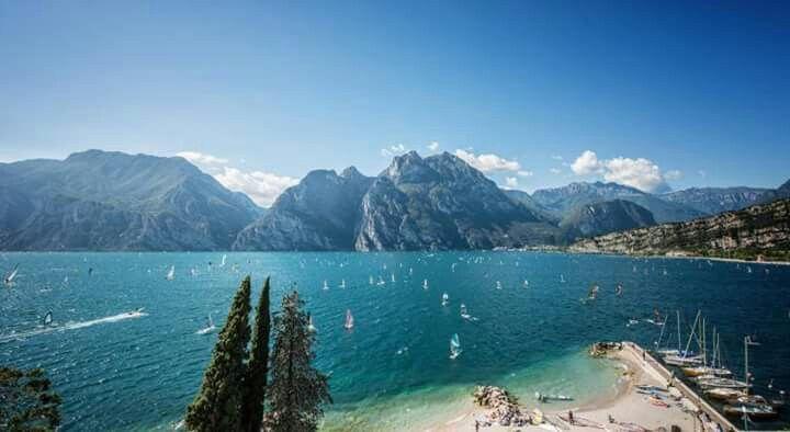 Perfect view on Lake Garda
