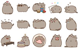 Kawaii Cat, Telegram Stickers