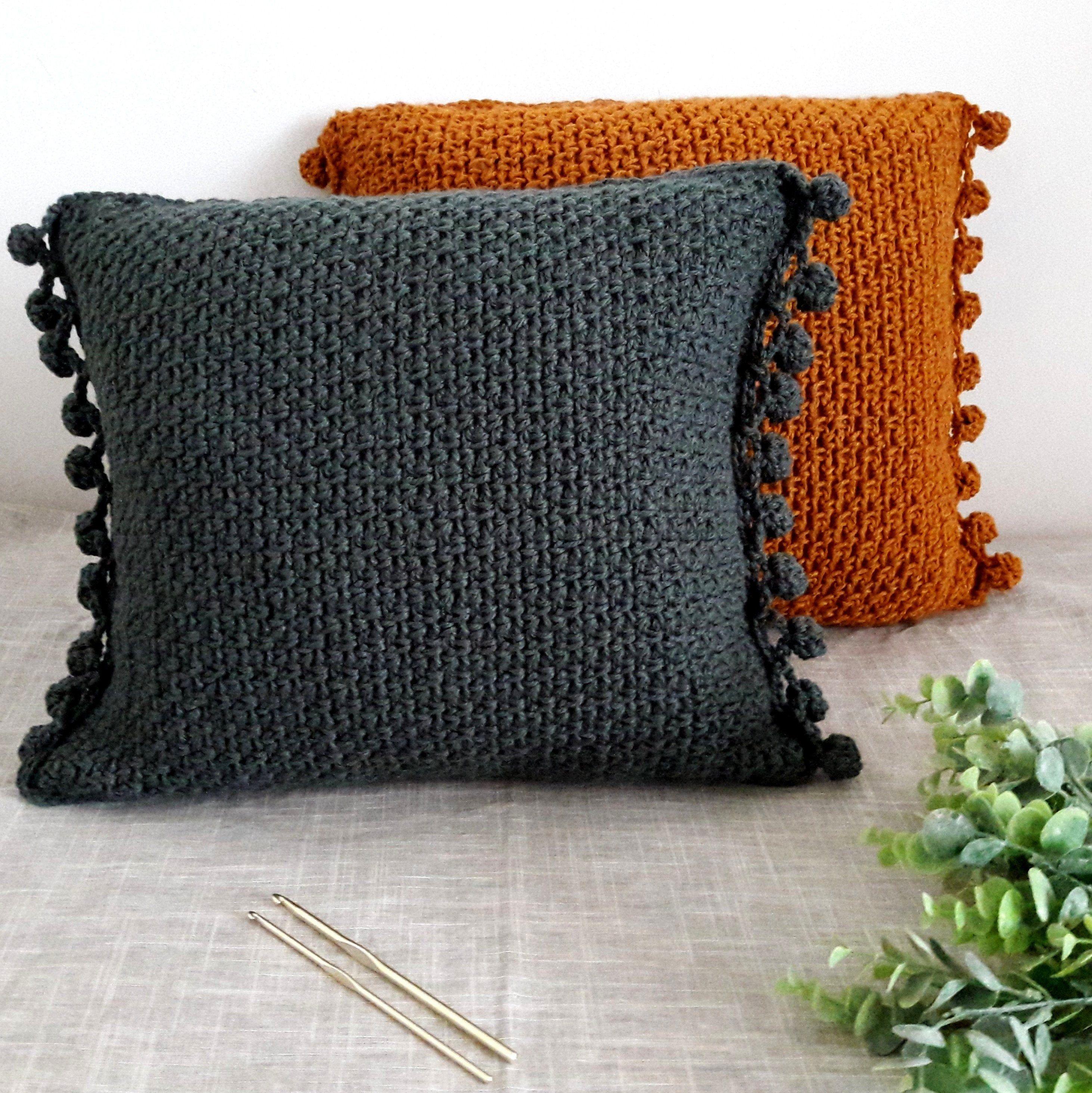 Crochet throw pillow pattern, Crochet cushion pattern, Crochet pillow pattern, Crocheted pillow, Easy crochet, Pillows patterns