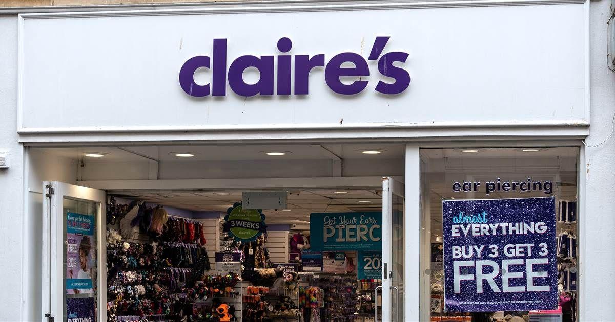 Claire's recalls 3 makeup products after FDA asbestos