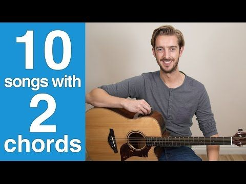EASY 2 Chord Beginner Guitar Song #1 How to play \'For What It\'s ...