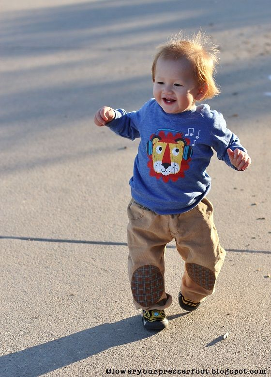 mccalls 5962 toddler boy corduroy pants with cute knee patches
