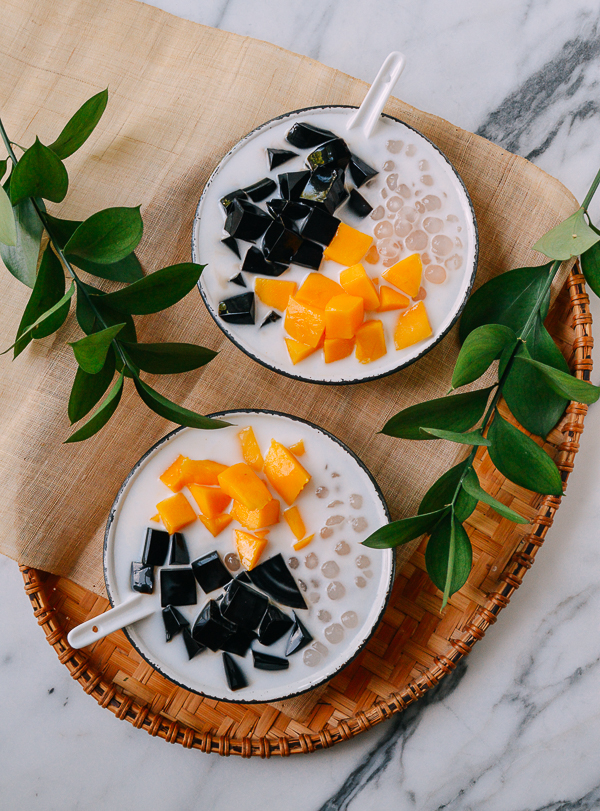 Photo of Grass Jelly Dessert: Customize Our Recipe!   The Woks of Life
