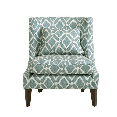 Found It At Joss Main Stephan Side Chair No Arms But Very Cute And A Good Pattern Both Colors Are Good Too Accent Chairs Furniture Chair