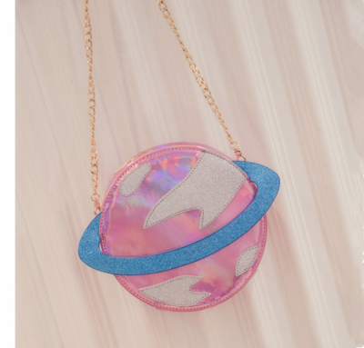 "Harajuku creative planet reflective laser package - Use the code ""batty"" at Cute Harajuku and Women Fashion for 10% off your order!"