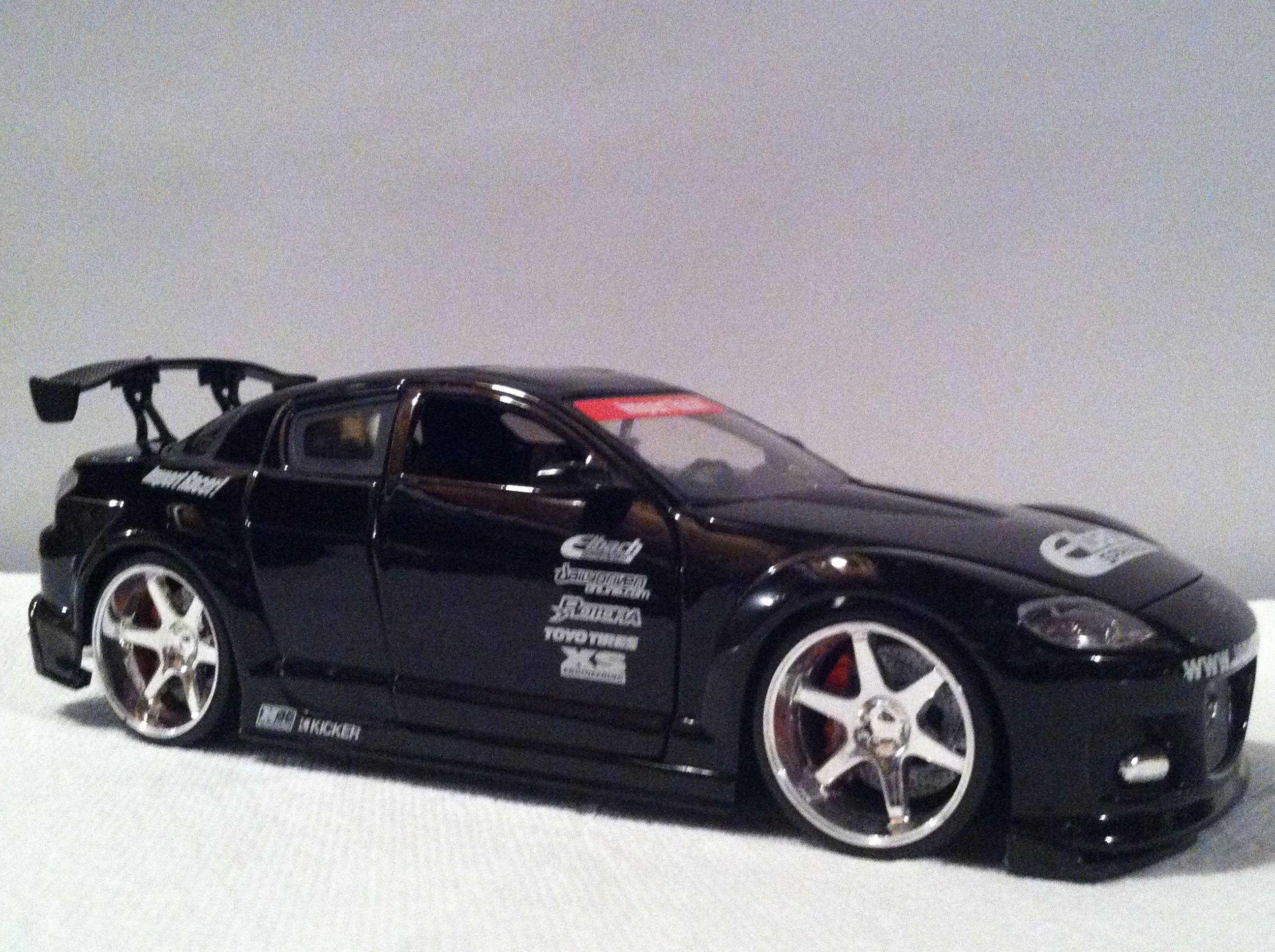 I will save money and buy me a Mazda RX-8. I\'ve idolized this car ...