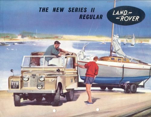 A great #LandRover poster featuring the Series II.