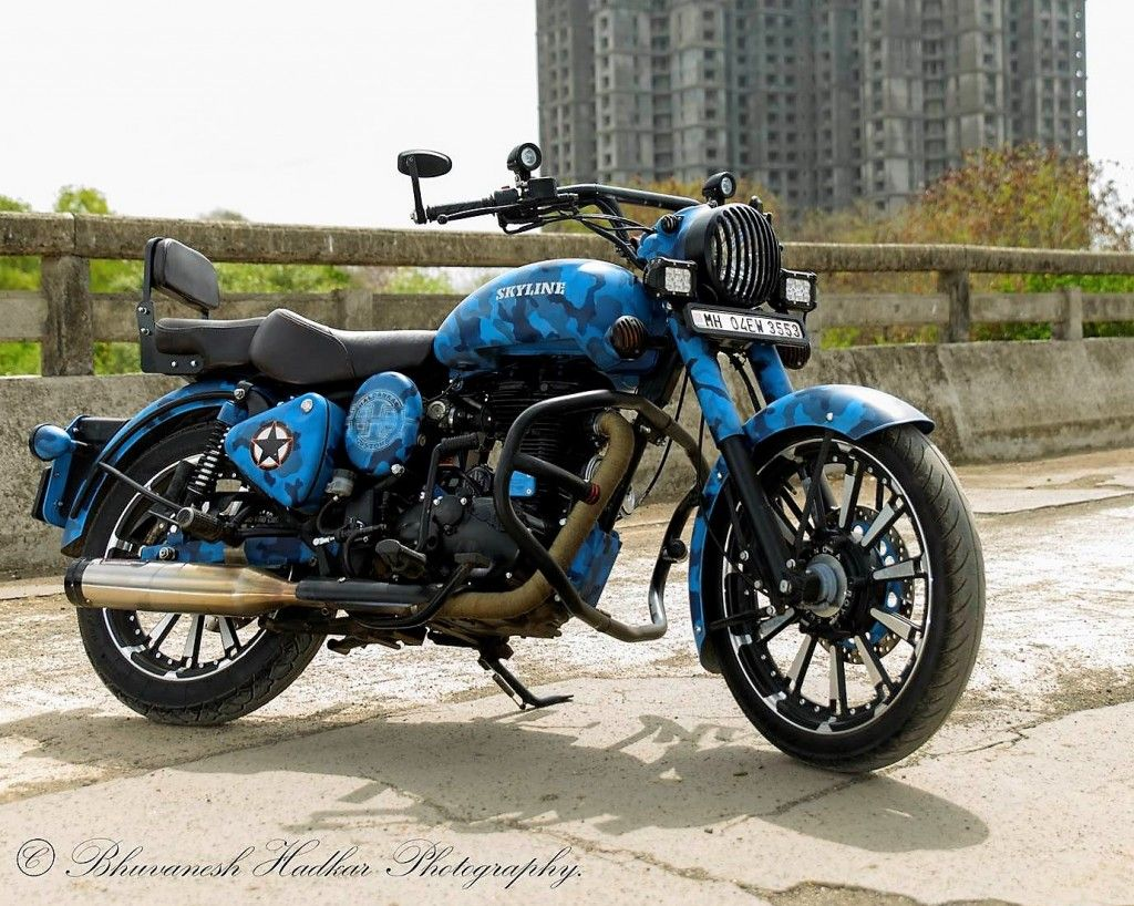 Royal Enfield Modified Royal Enfield Classic 500 Skyline