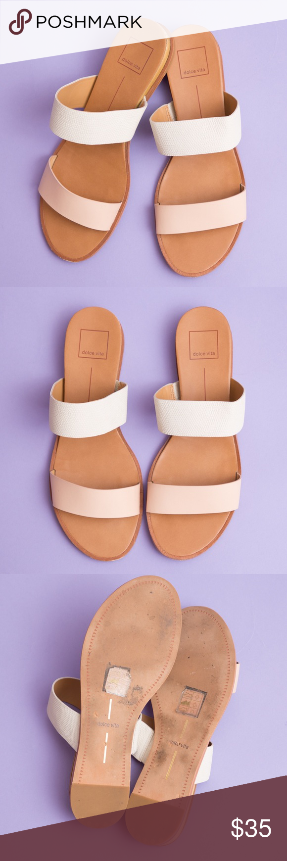 a857093adee Dolce Vita Blush Pink Pris Wedge Sandal Size 8.5 Like new- only worn twice