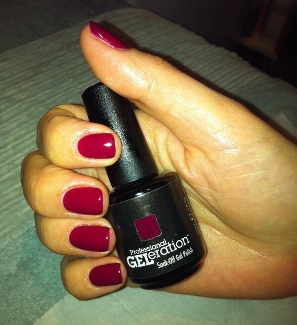 Jessica Christmas Nails: Jessica Geleration